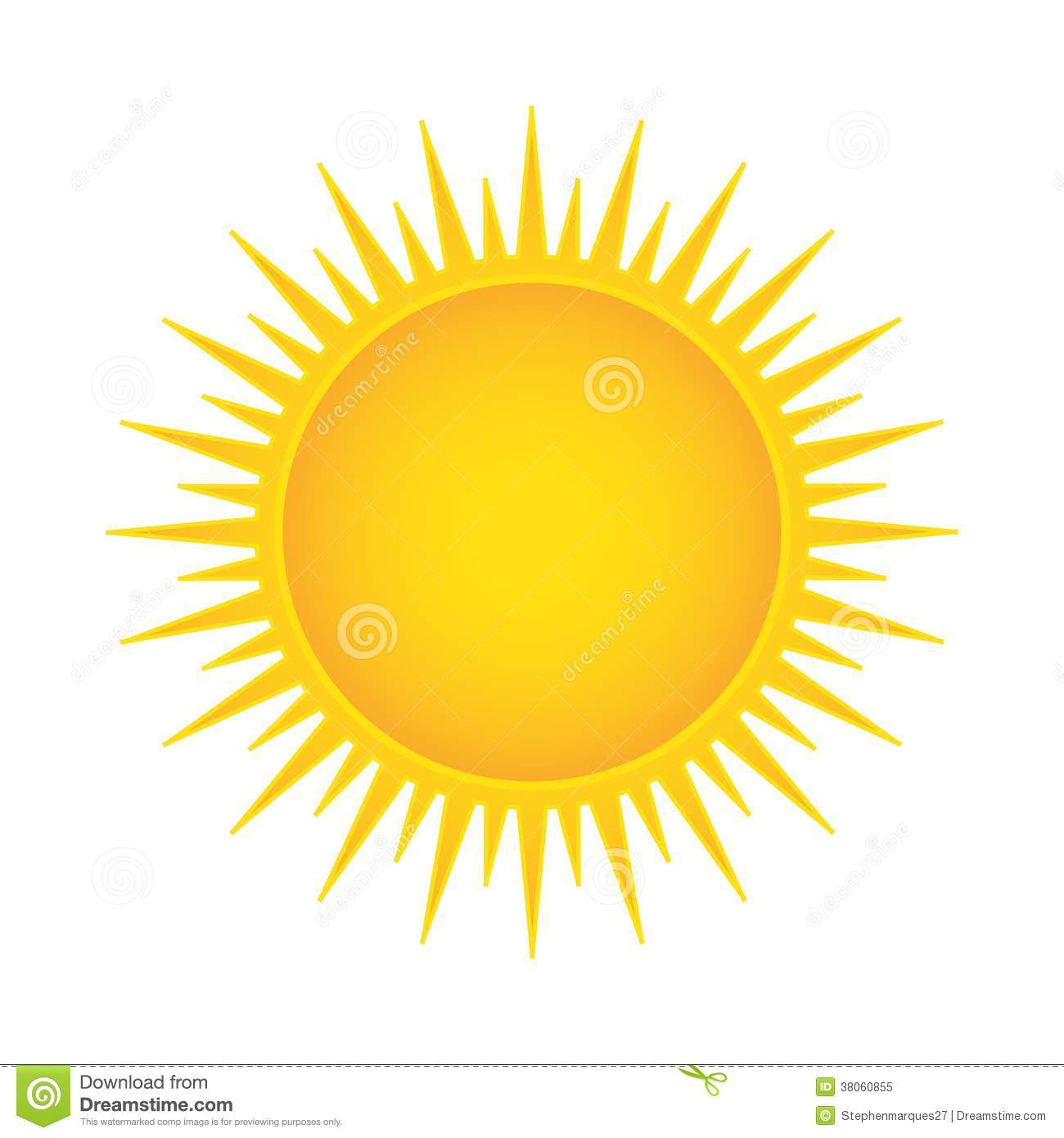 Royalty Free Stock Photo Sun Vector Illustration Image38060855