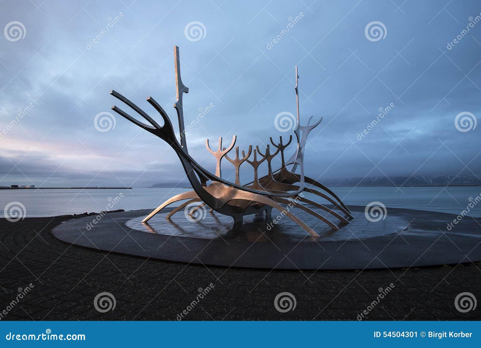 The Sun Voyager à Reykjavik, Islande