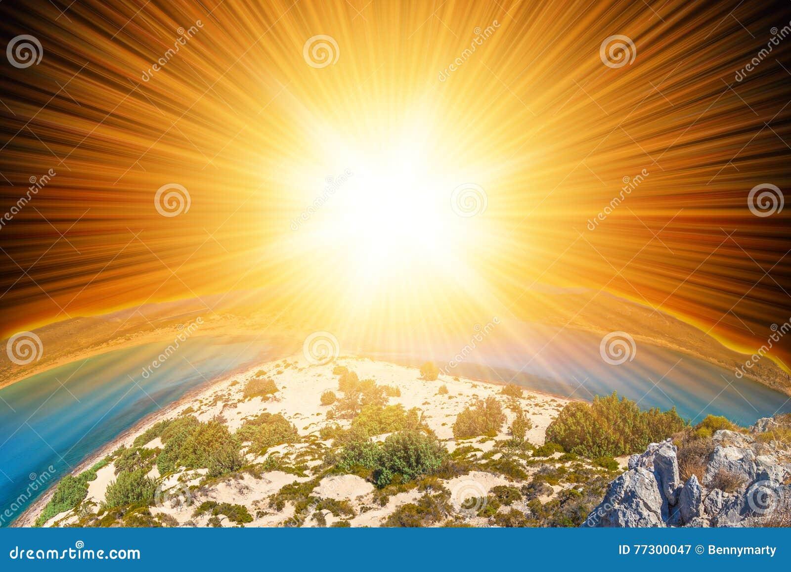 Sun y tierra