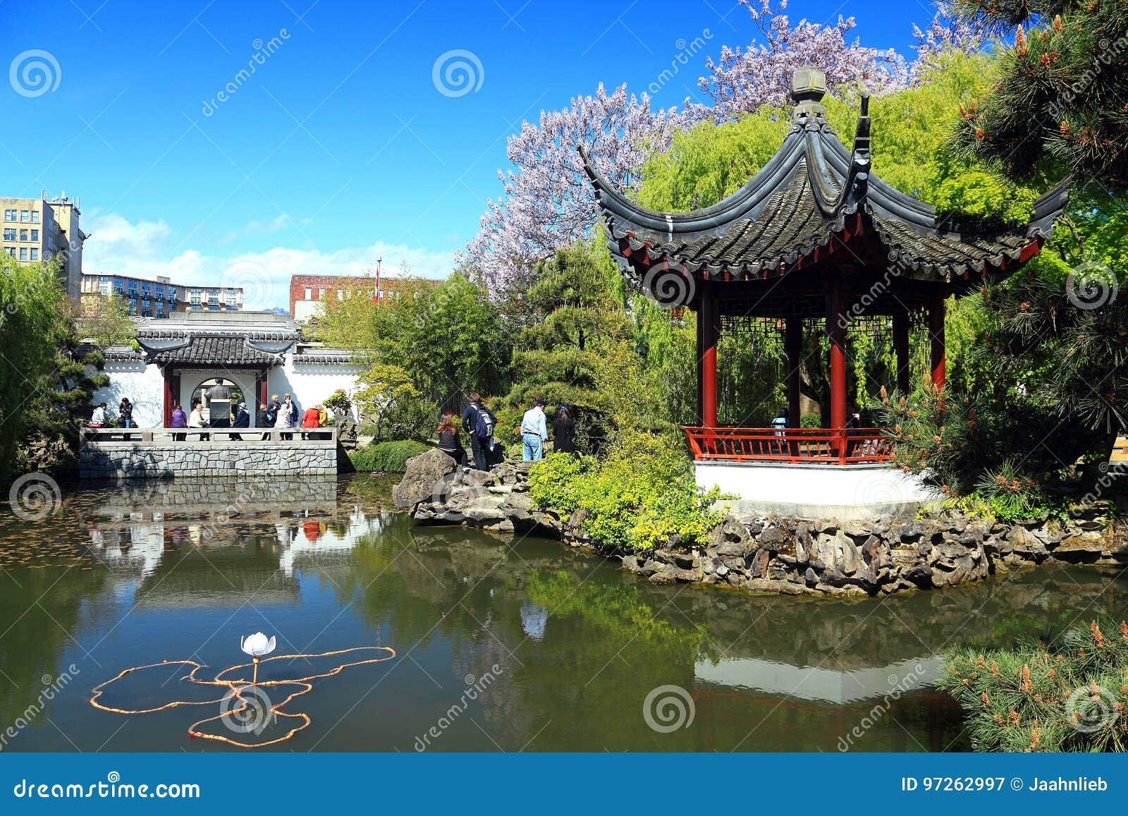 Sun Yat Sen Garden In Spring, Vancouver, B.C.