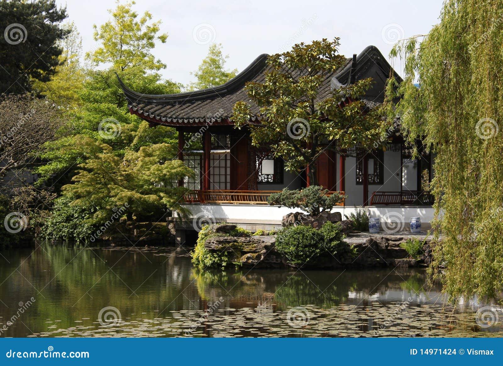 Sun Yat Sen Gardens In Vancouver Stock Photo - Image of asia, water ...