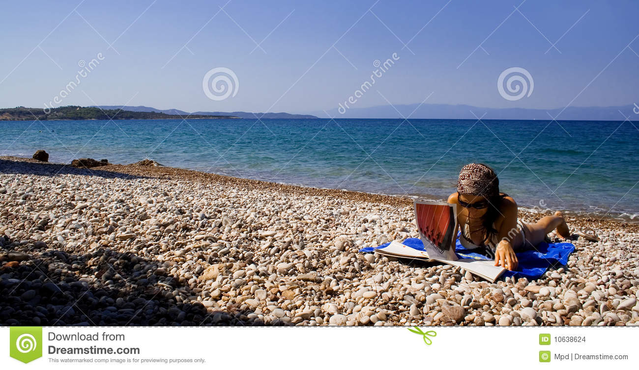 Sunbathing Stock Images - Image: 10638624