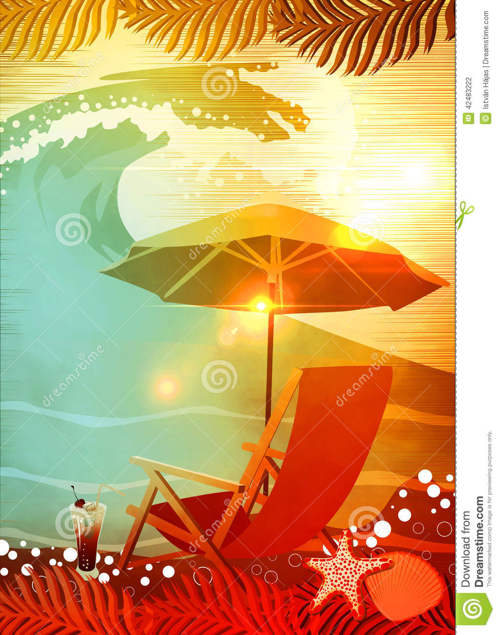 sunbathing in beach background stock illustration image dog sunbathing clipart dog sunbathing clipart