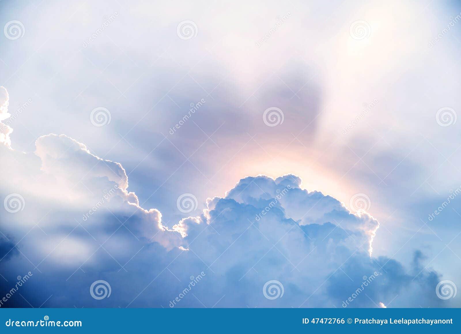 Sunbeam après les nuages