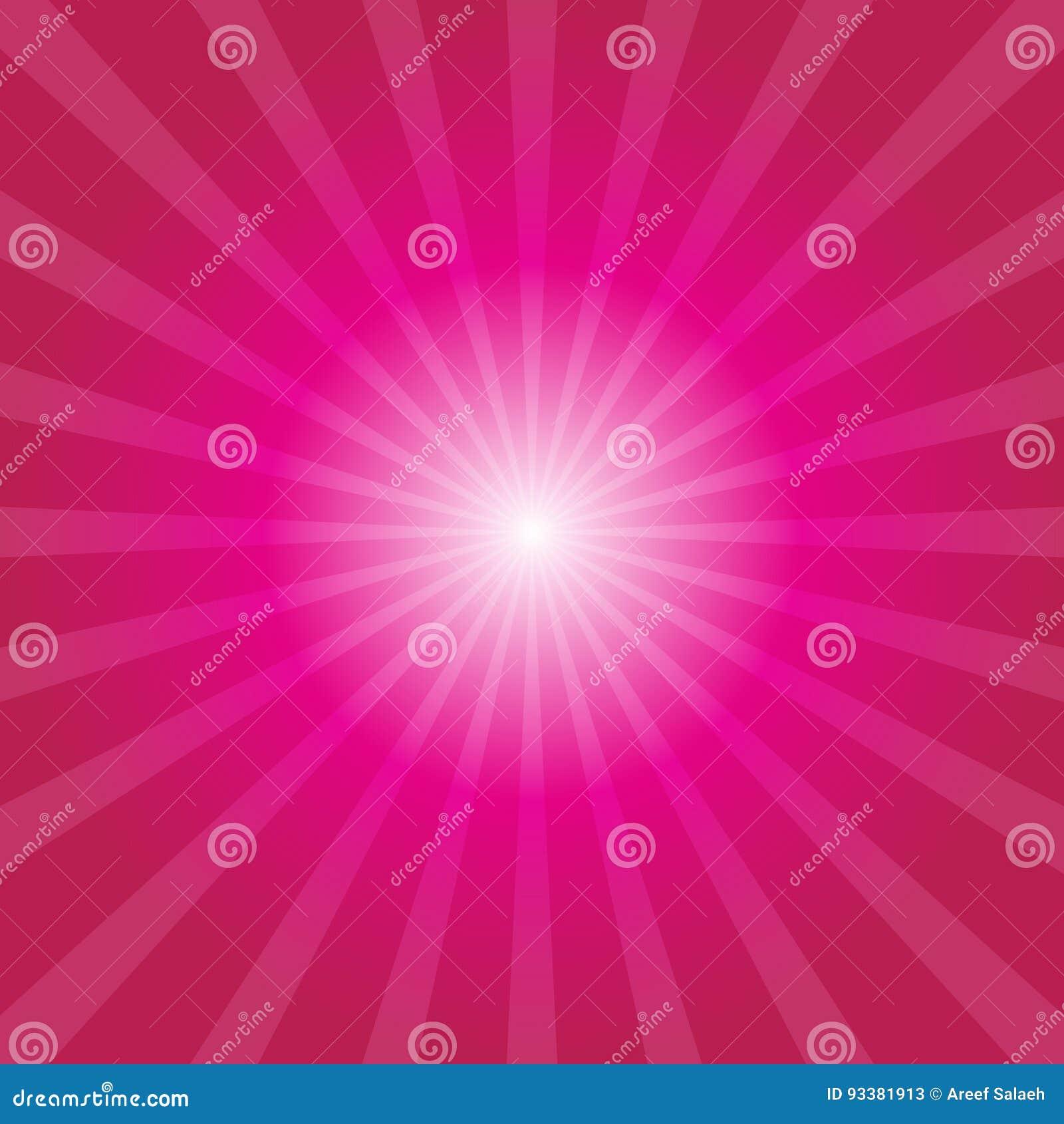 Sunburst предпосылки розовый