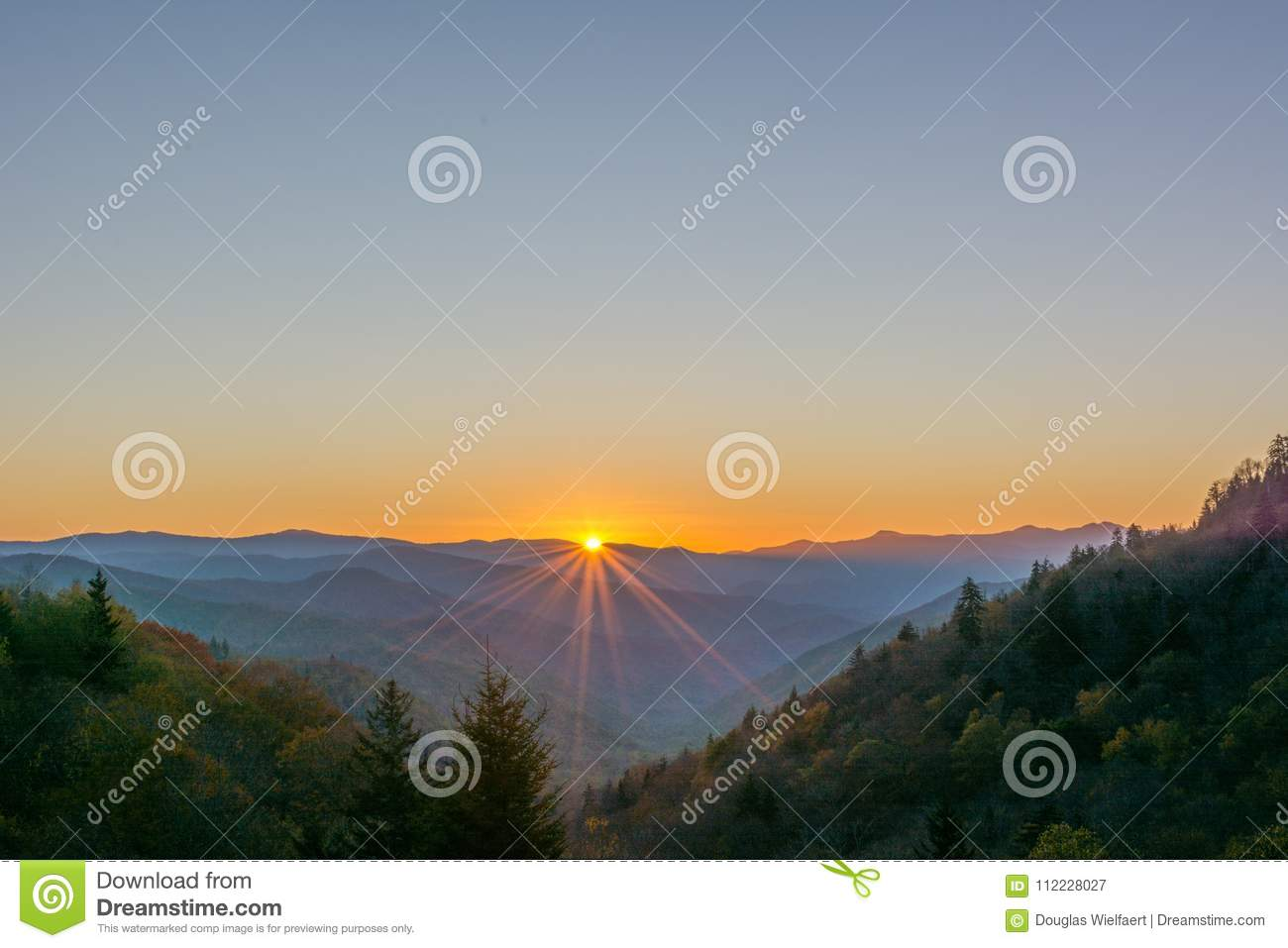 Sunburst, Great Smoky Mountains park narodowy