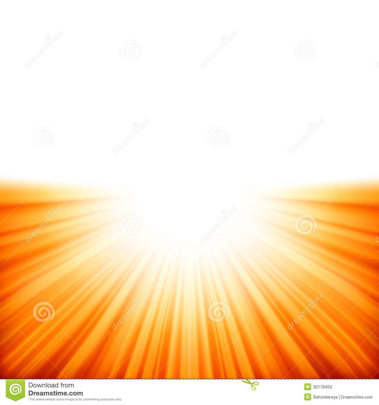 Sunburst Rays Of Sunlight Tenplate. EPS 10 Stock Photos - Image ...