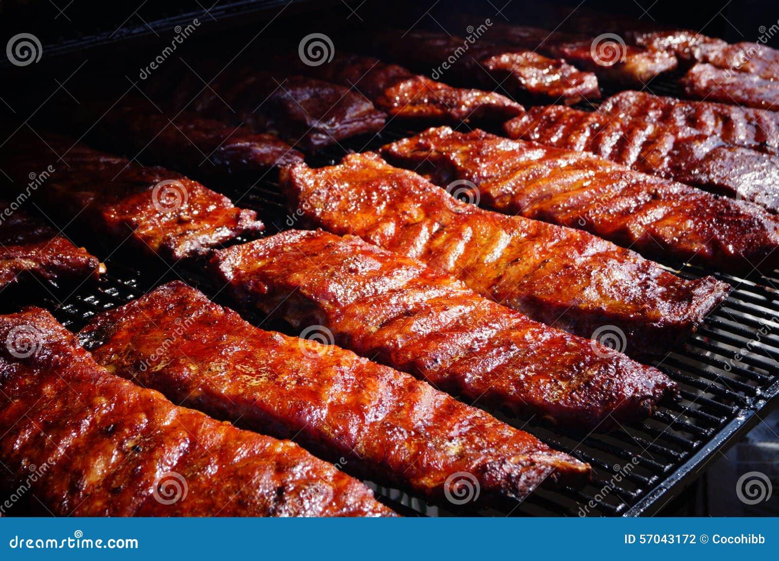 Suncoast BBQ Bash - Event Food BBQ Slabs of Ribs