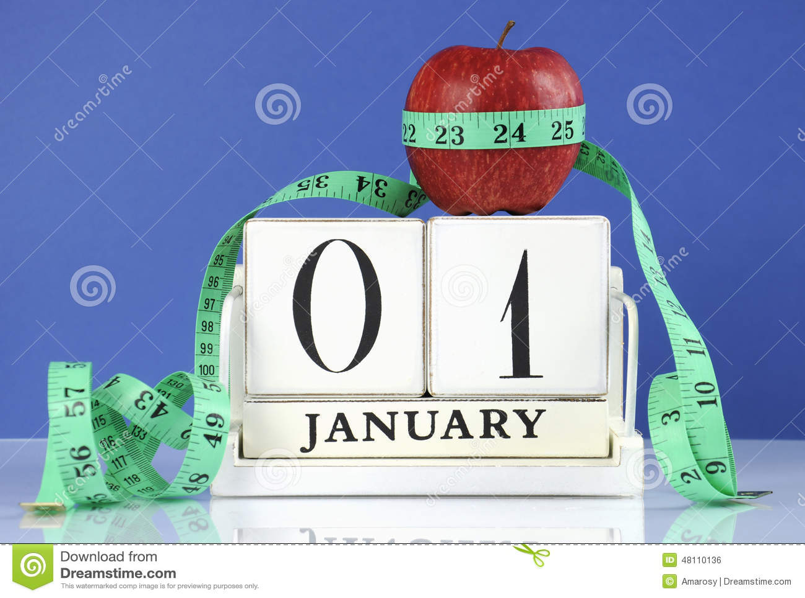 Sund banta viktförlust för lyckligt nytt år eller god hälsaupplösning