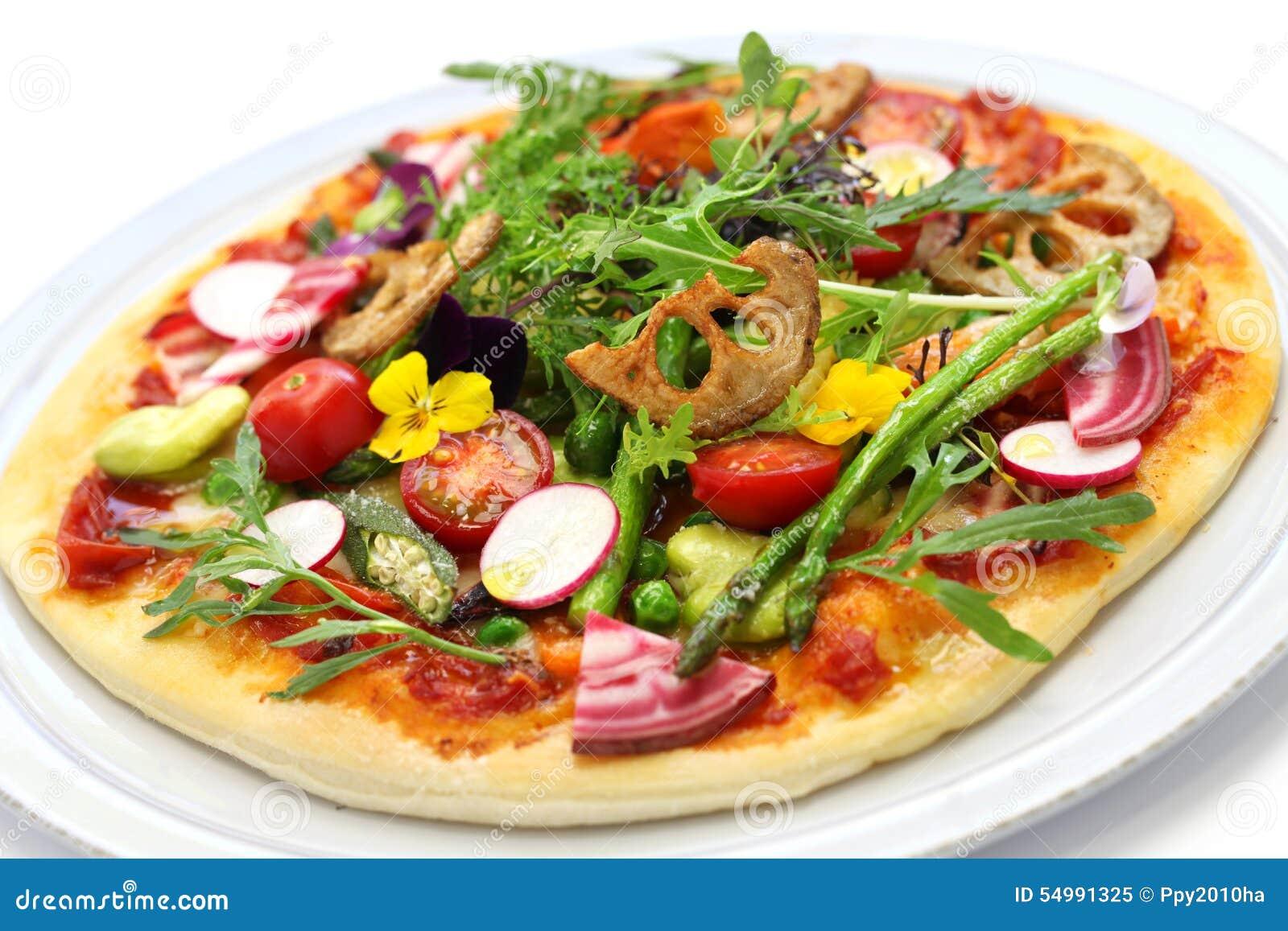 Sund pizzagrönsak