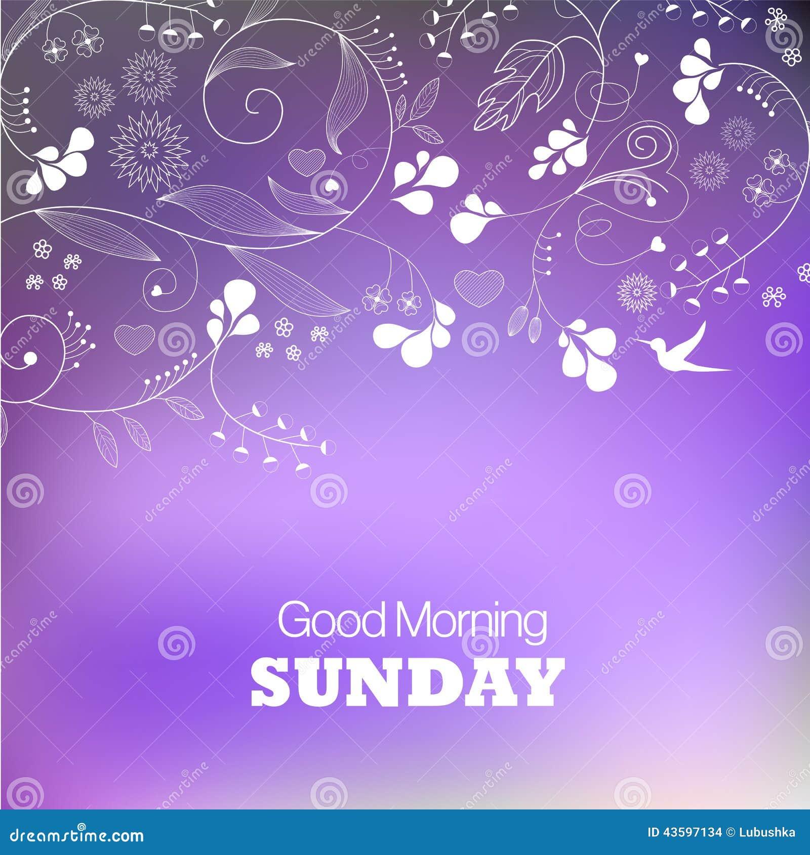 Sunday Stock Vector Illustration Of Icon Design Light 43597134