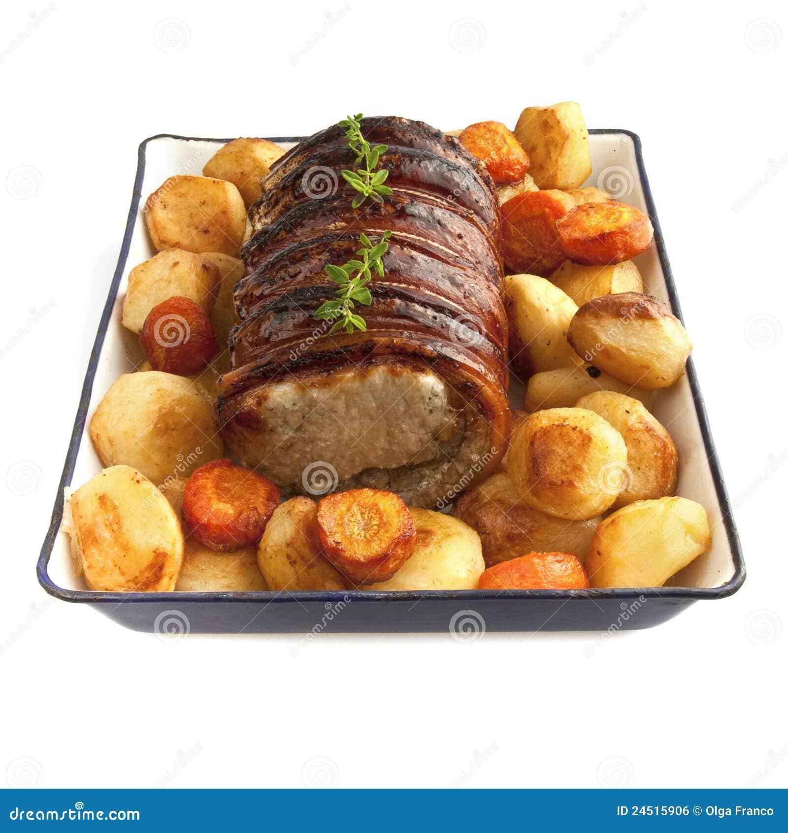 Sunday rolled pork roast