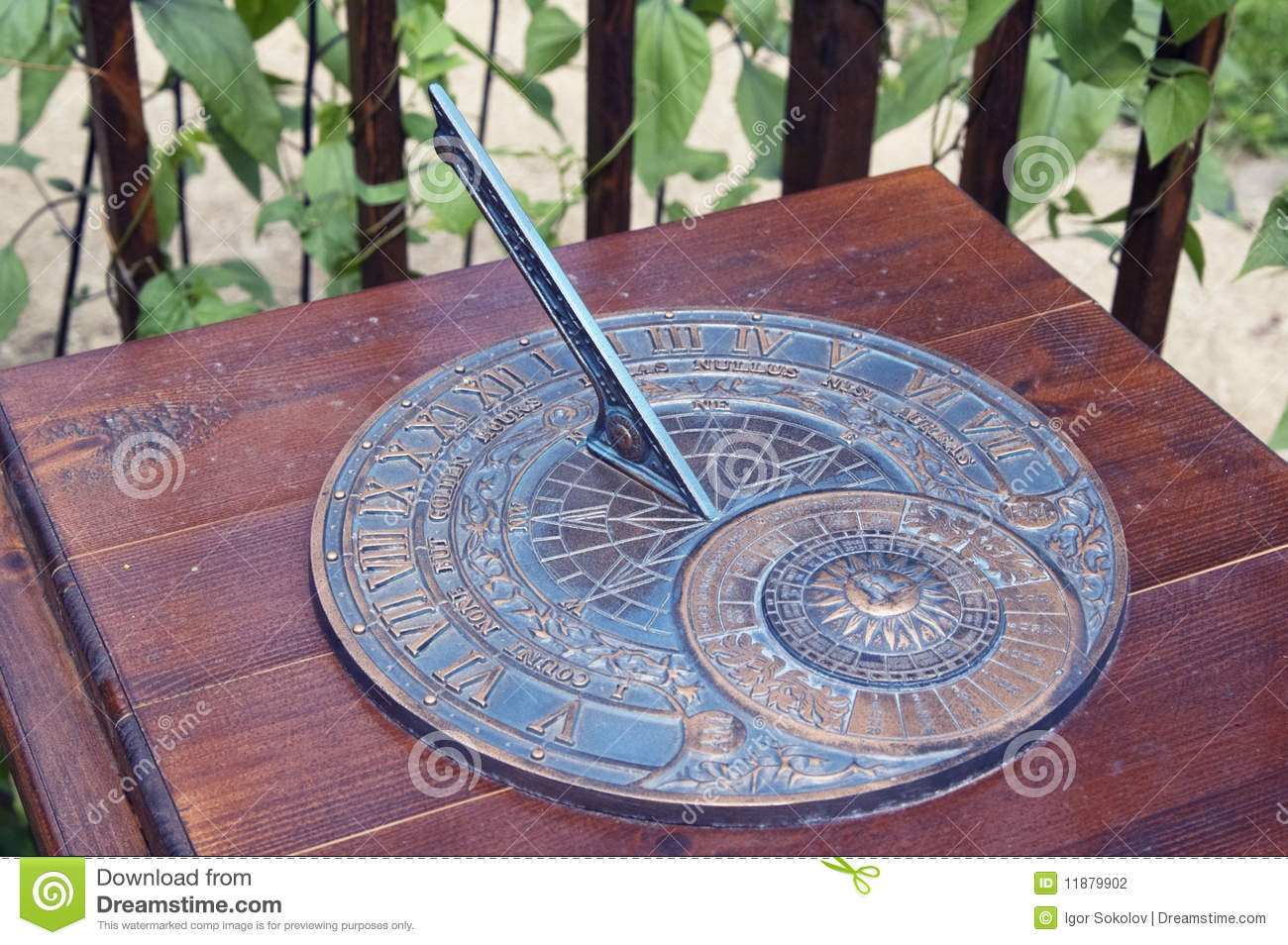 sundial stock photo image of nature watch outdoor 11879902