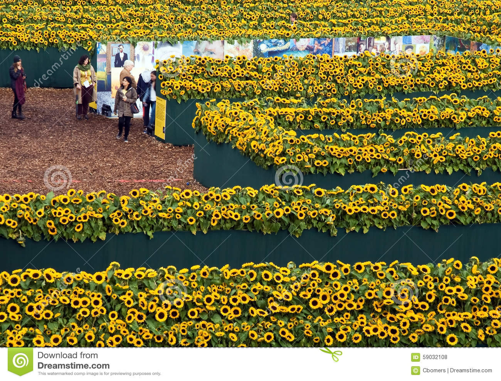 Sunflower Labyrint 2015 Van Gogh Museum