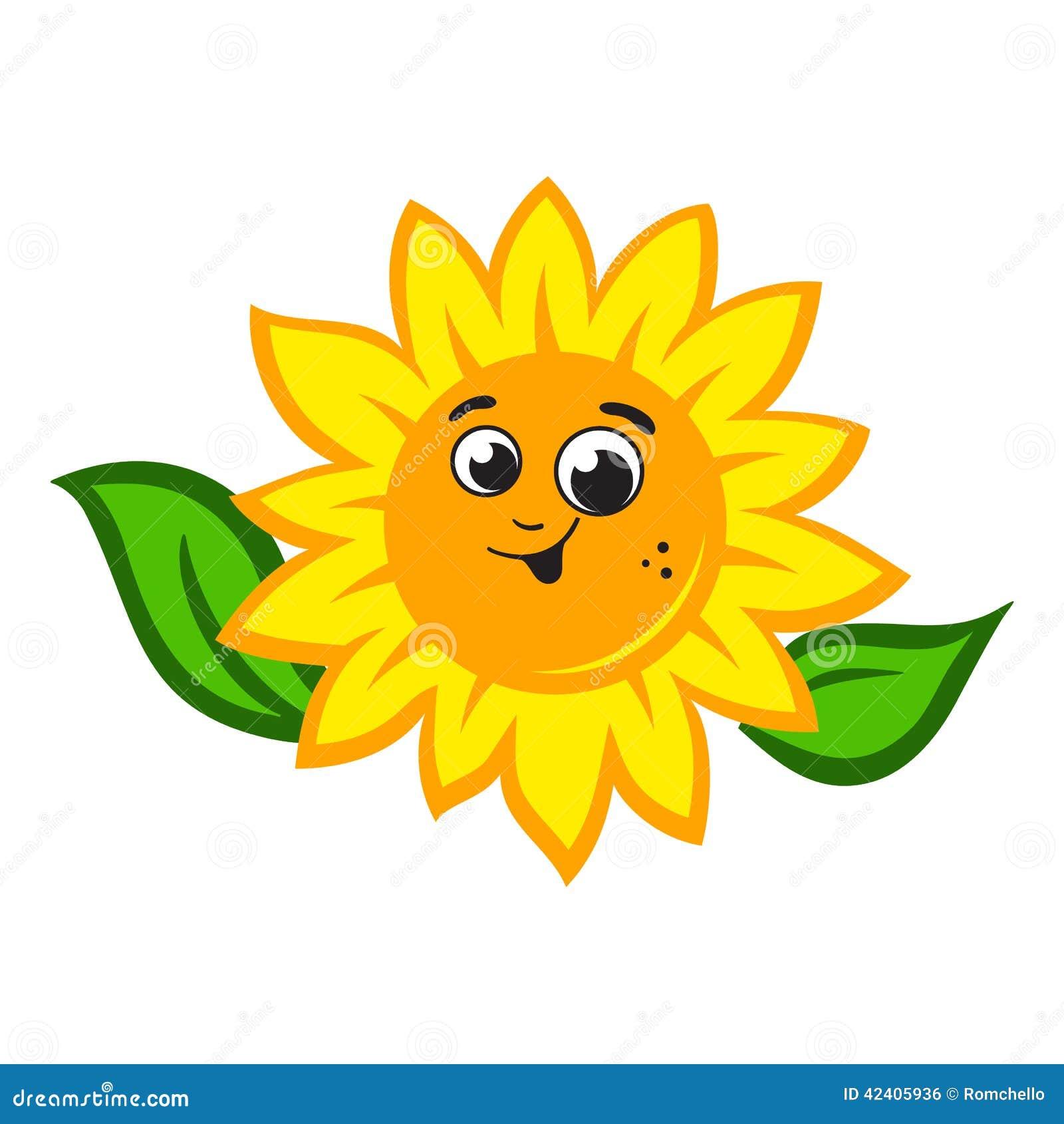 Sunflower logo stock illustration. Illustration of ...