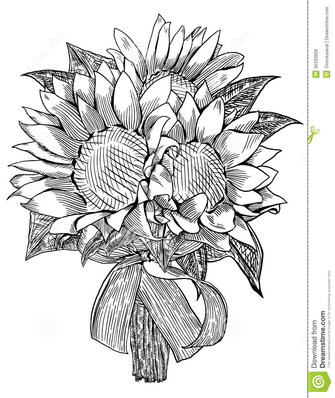 wedding bouquet flowers drawing free coloring pages of psalm verse