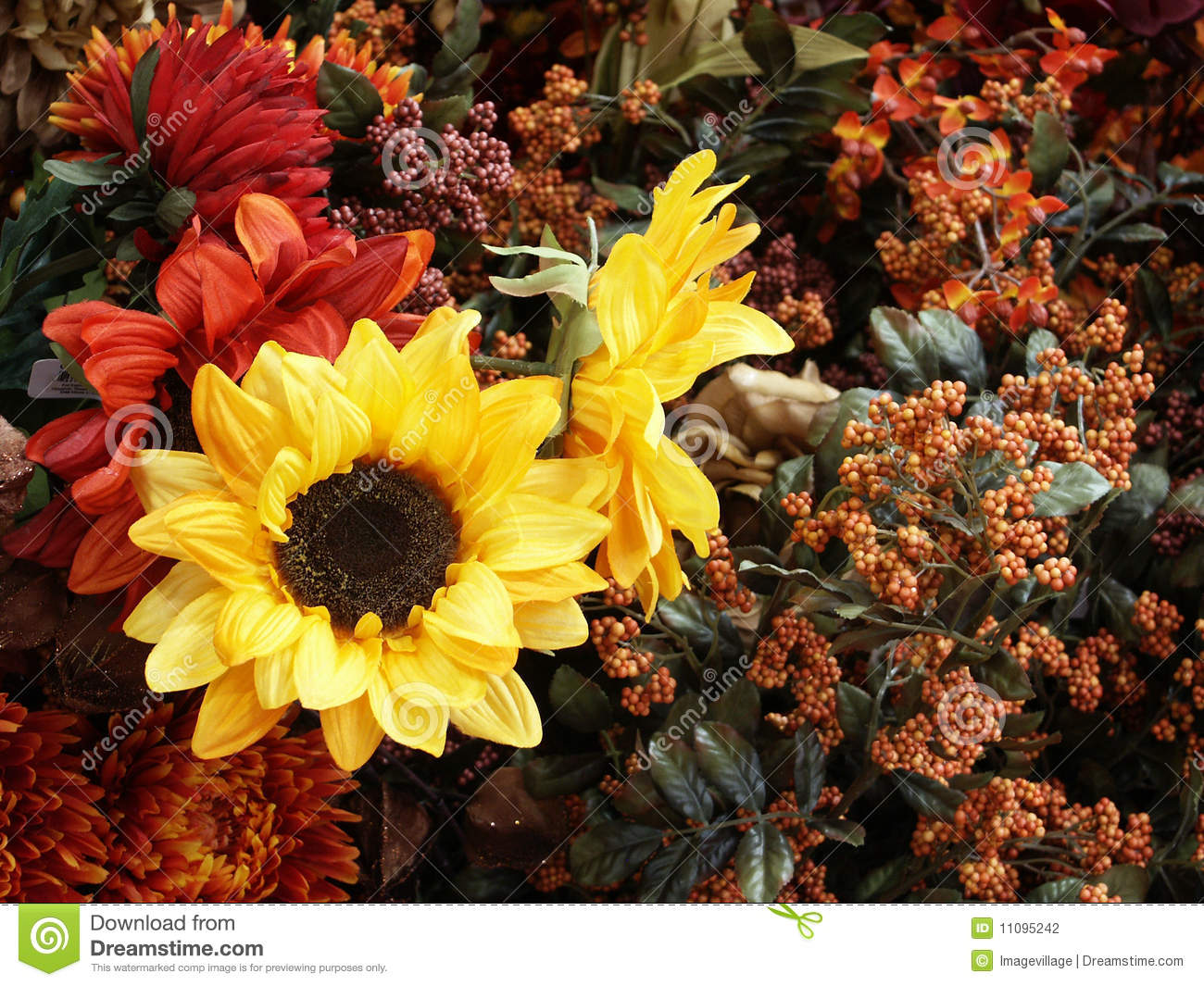 Sunflowers and other fall flowers stock photography image 11095242 background fall dhlflorist Images