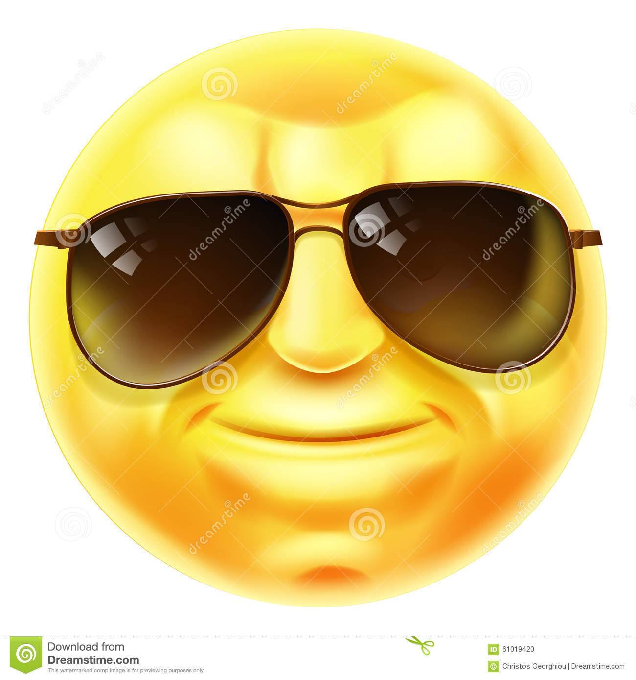 Cool emoji with luma matte stock photo image of alpha 78260080 sunglasses cool emoji emoticon stock photo biocorpaavc Images