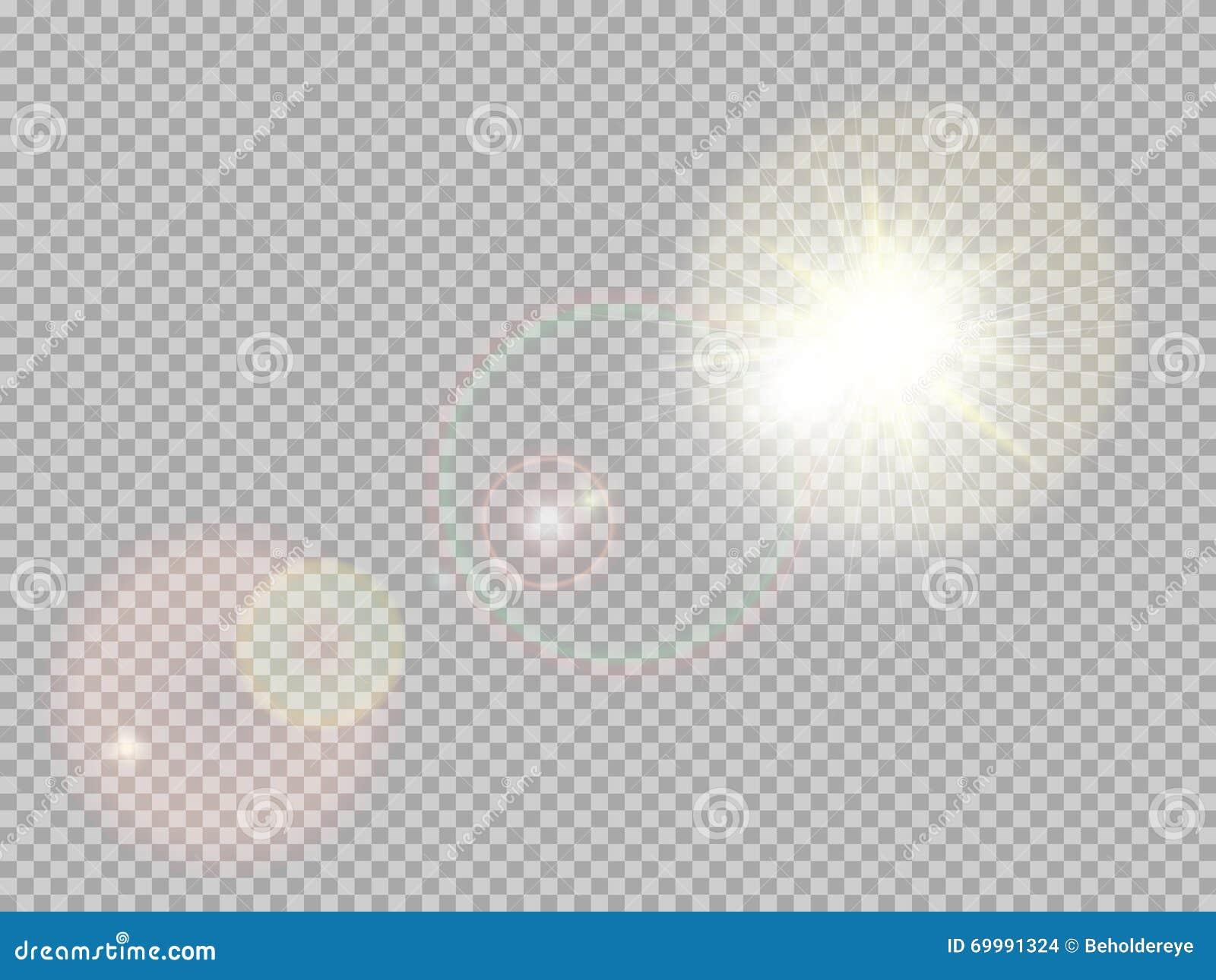 Sunlight special lens flare. EPS 10