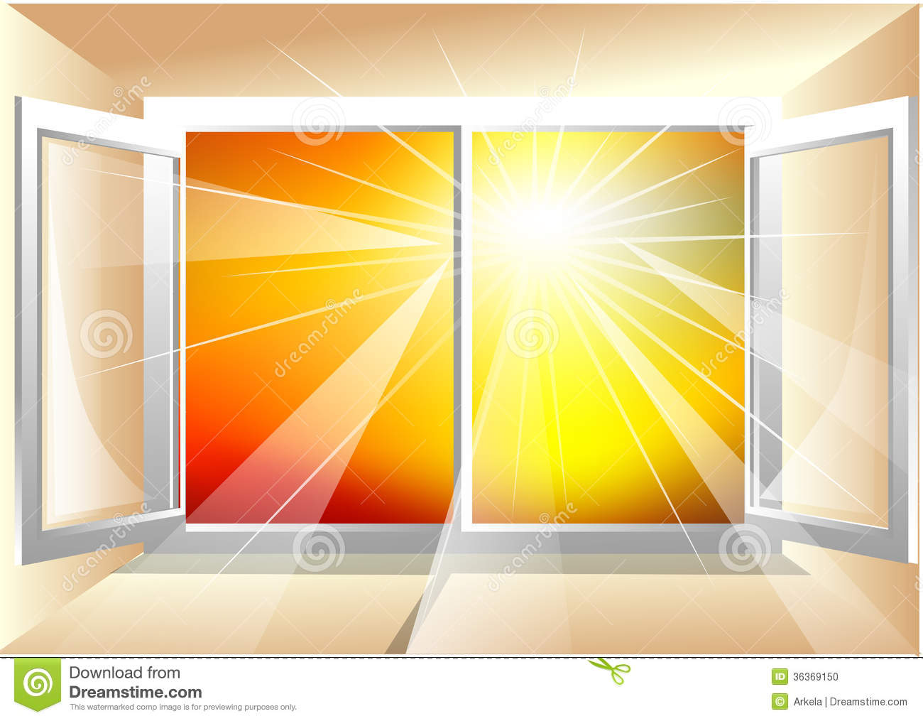 Sunlight in window stock photo image 36369150 for Sunlight windows