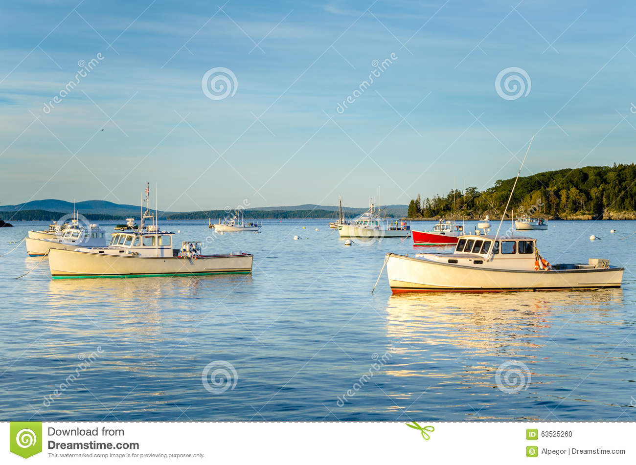 Fishing boats stock photo 23622762 for Fishing boat dealers near me