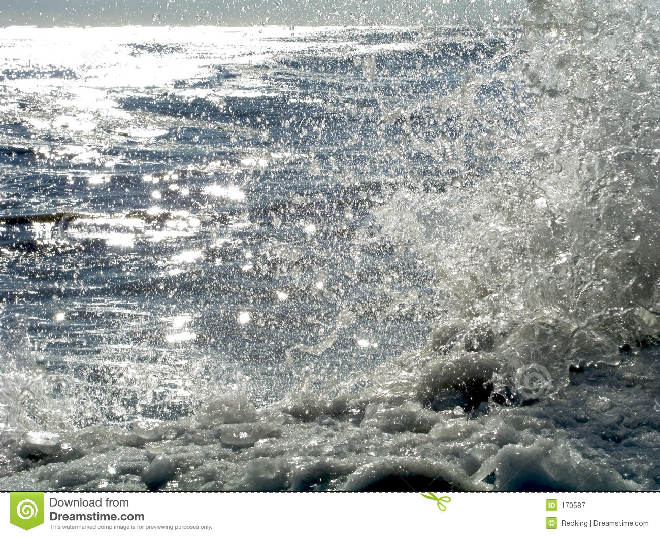 Download Sunlit Icy Shore 11 stock image. Image of water, stones - 170587