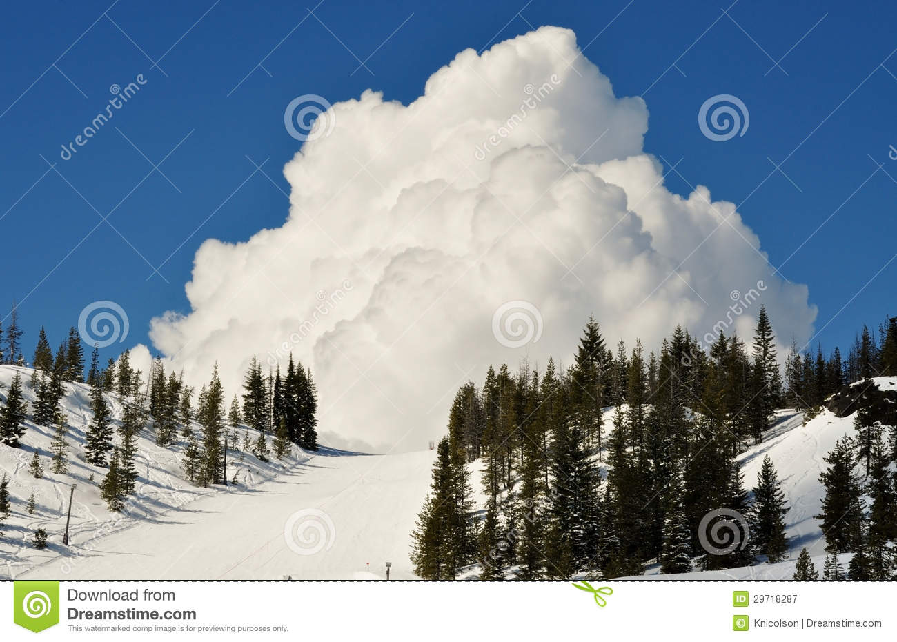 hoodoo ski resort stock image. image of background, skiing - 29718287