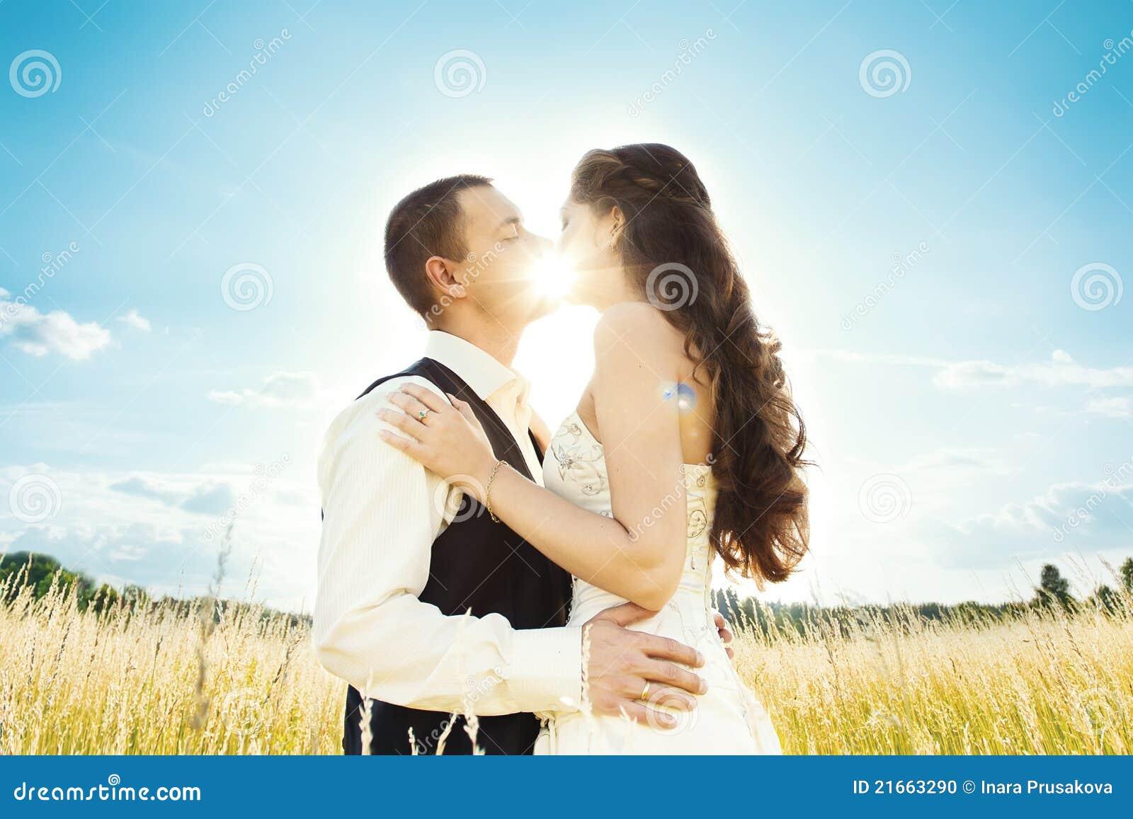 sunny kiss photo