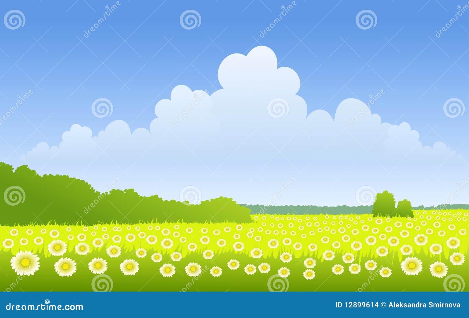 Sunny landscape stock images image 12899614 for Sunny landscape designs