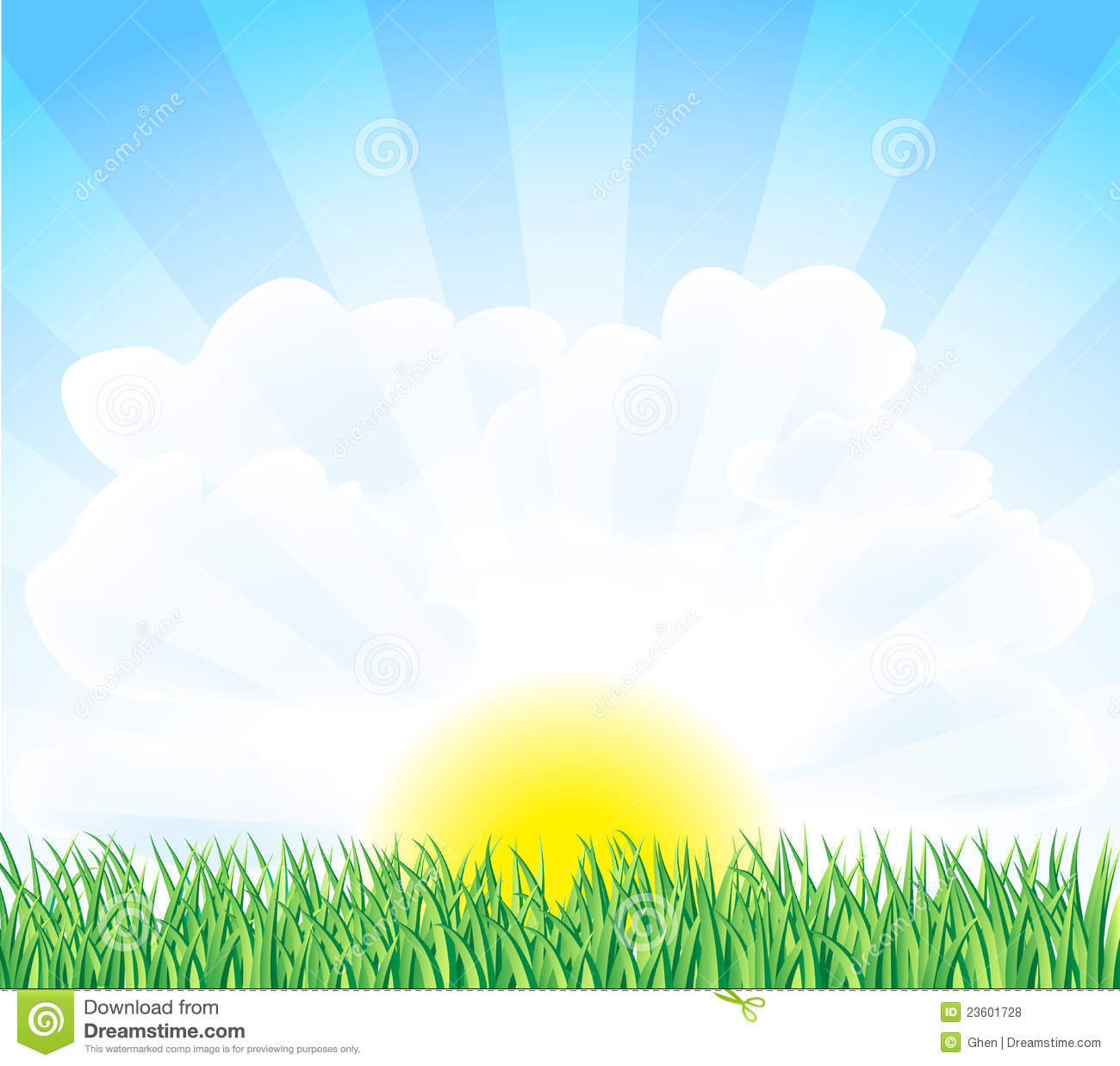 Sunny landscape royalty free stock photos image 23601728 for Sunny landscape designs