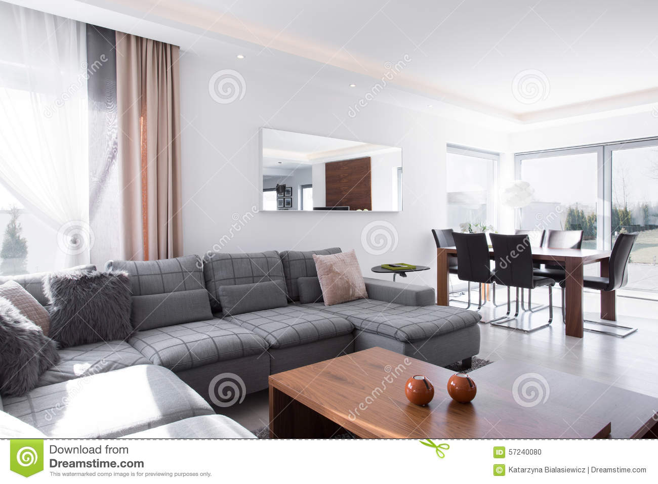sunny living room living room stock photo image 57240080 11030