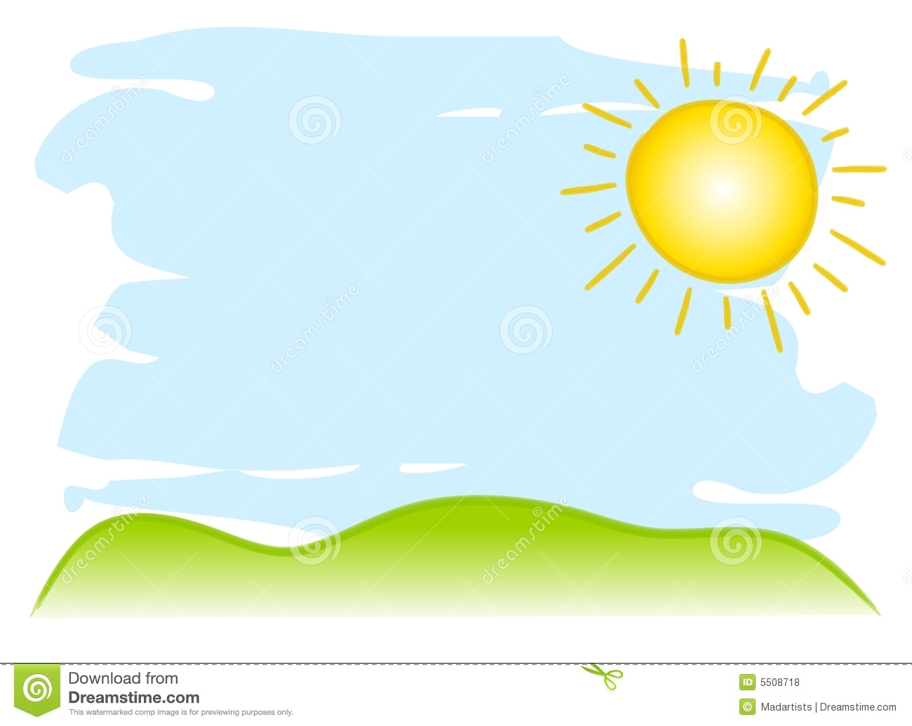 Sunny Sky Background