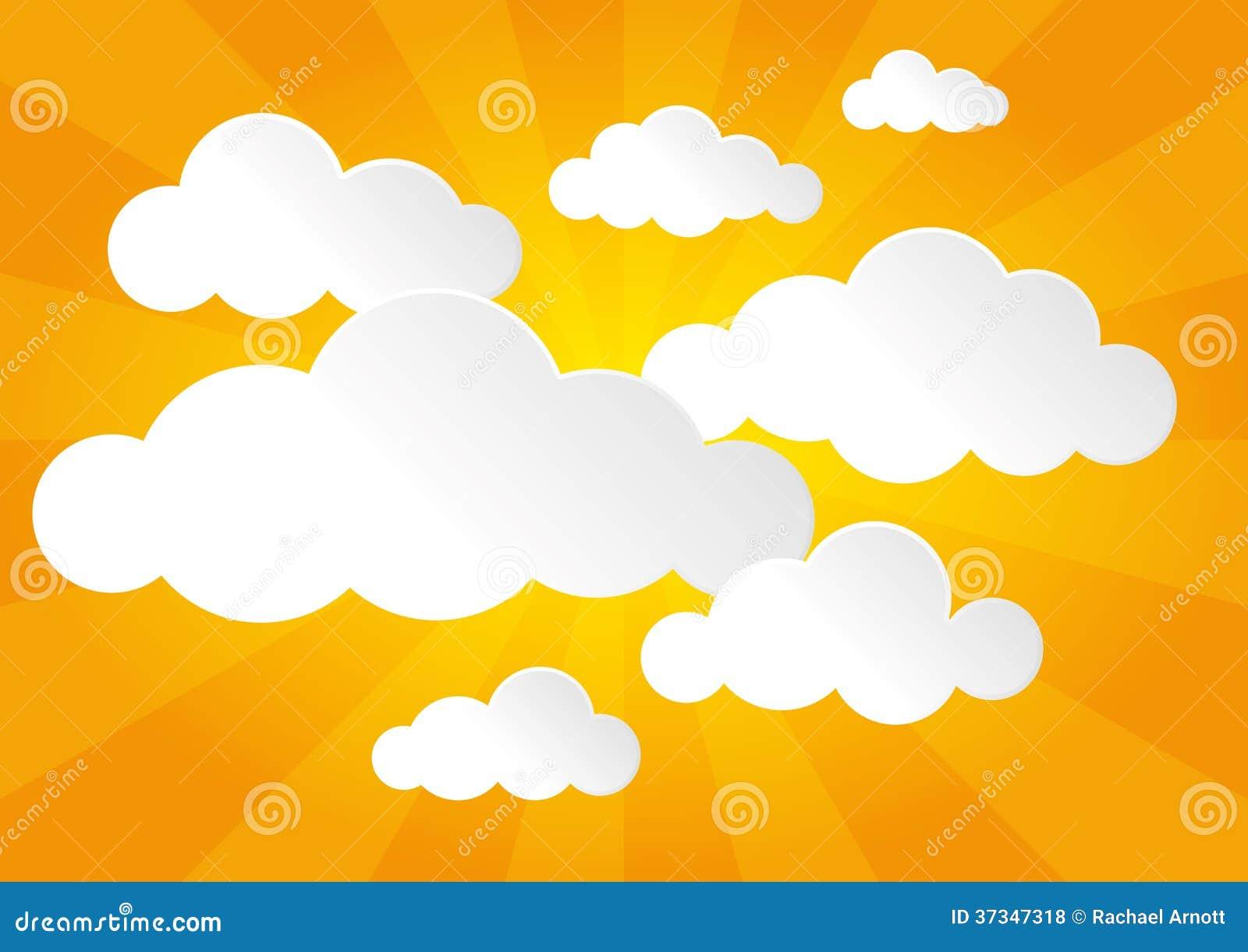Sunny Sky och moln