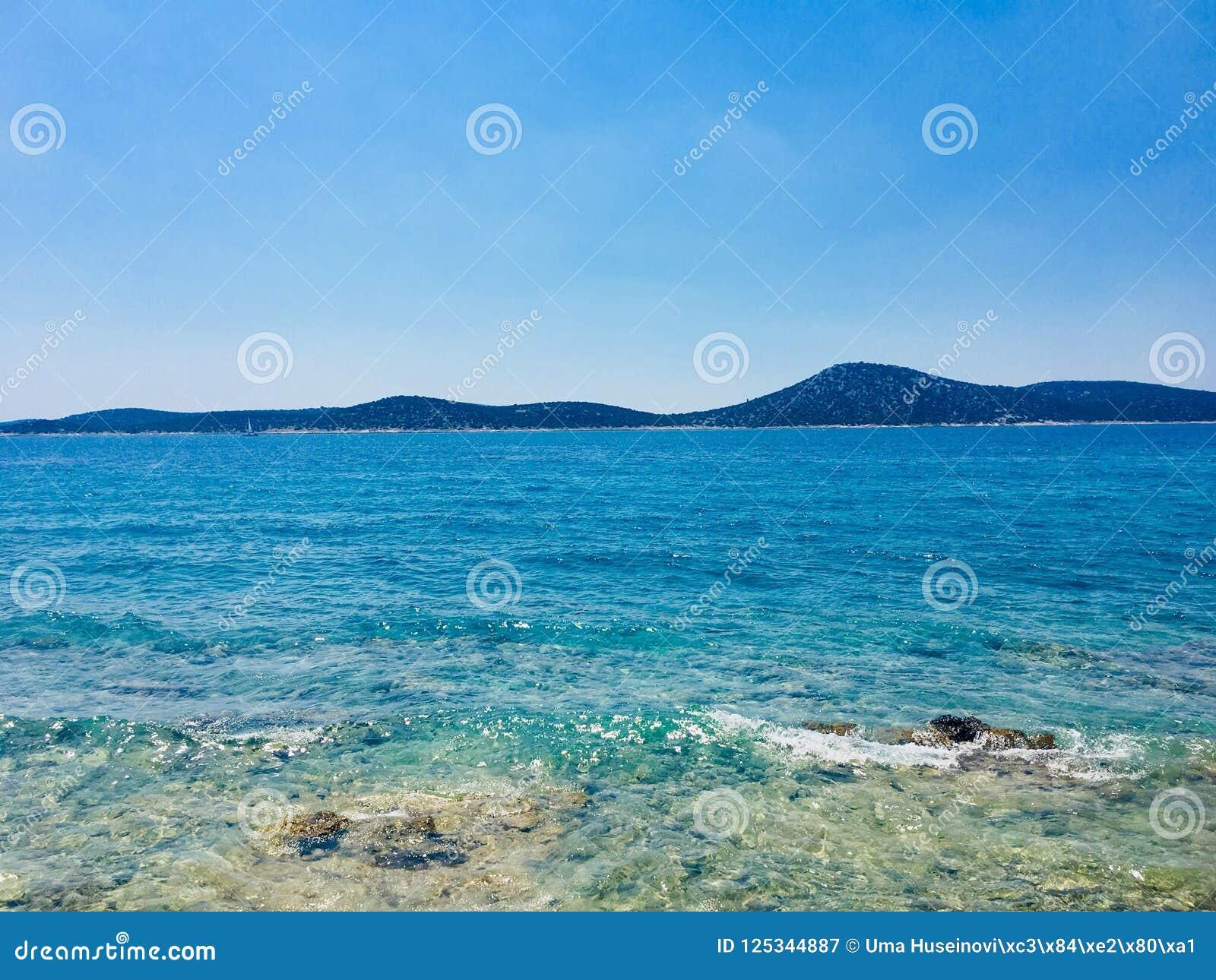 Sunny Summer Adriatic Sea View