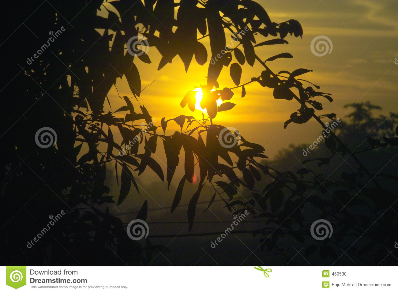 Download SUNRISE stock photo. Image of malwan, early, clouds, india - 460530