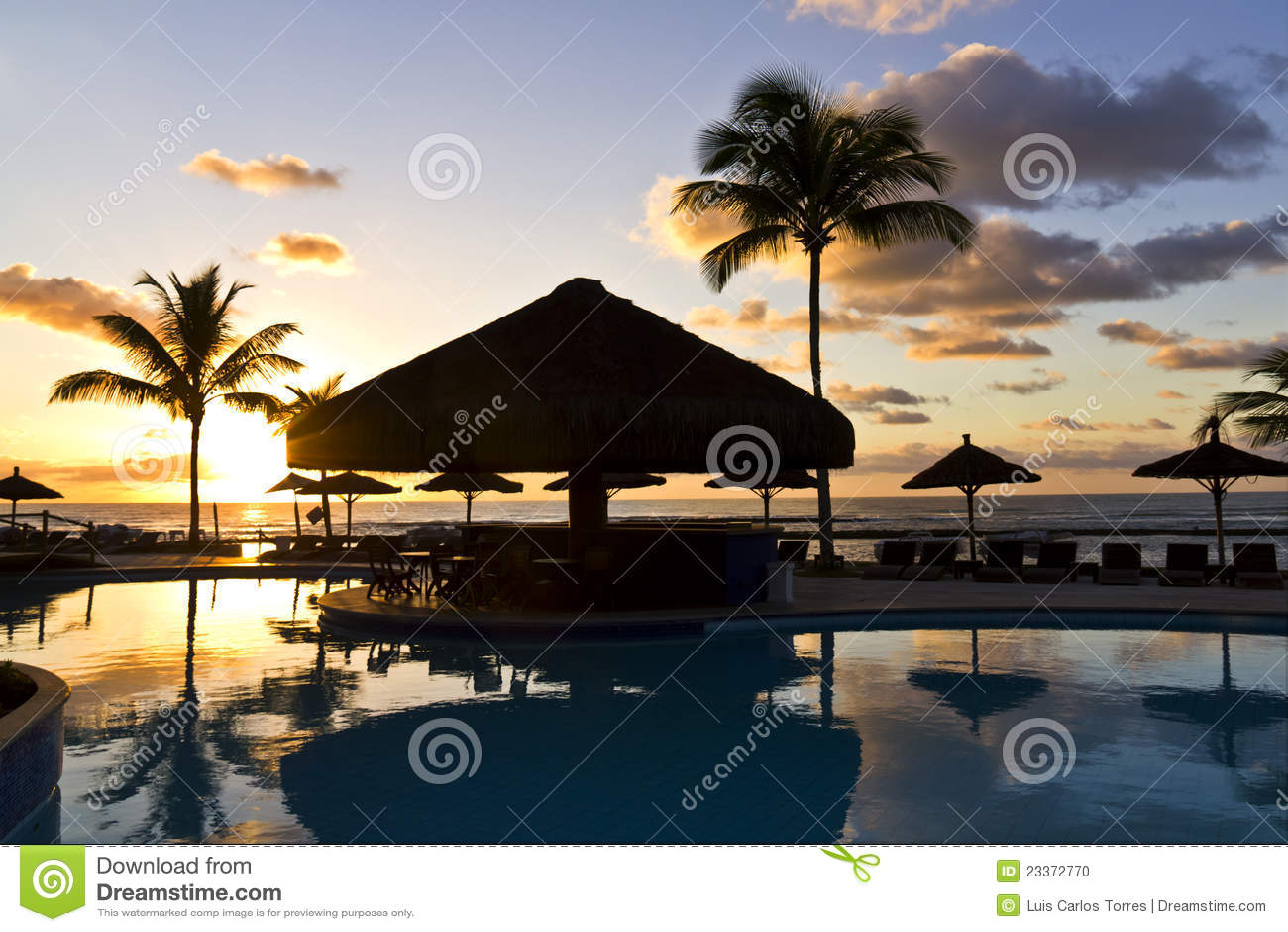 Sunrise in Arraial D Ajuda Eco Resort - BA-Brazil