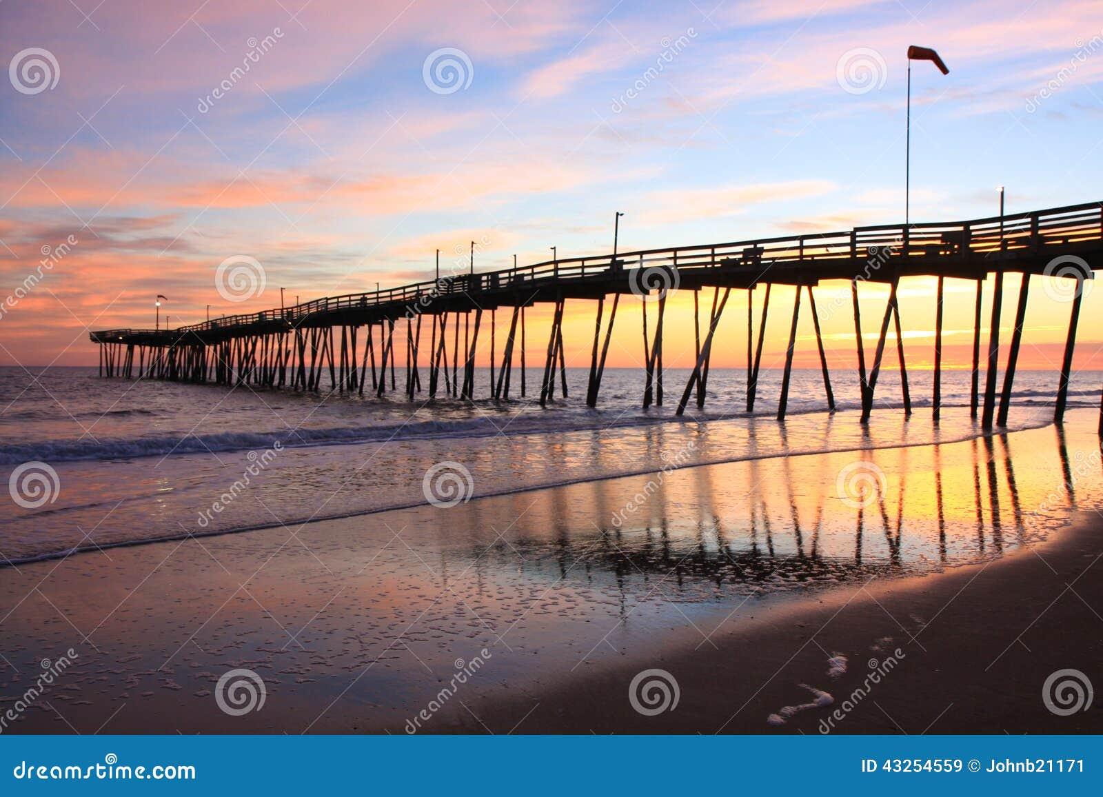 Sunrise at the Avalon Pier