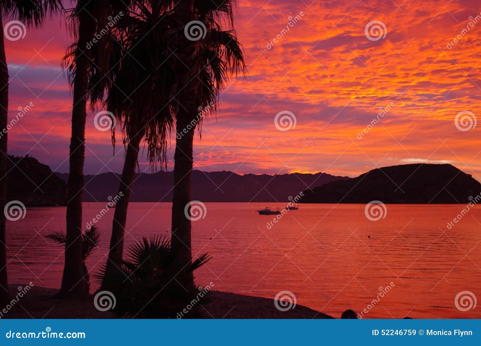 Sunrise in Baja, Coyote Bay