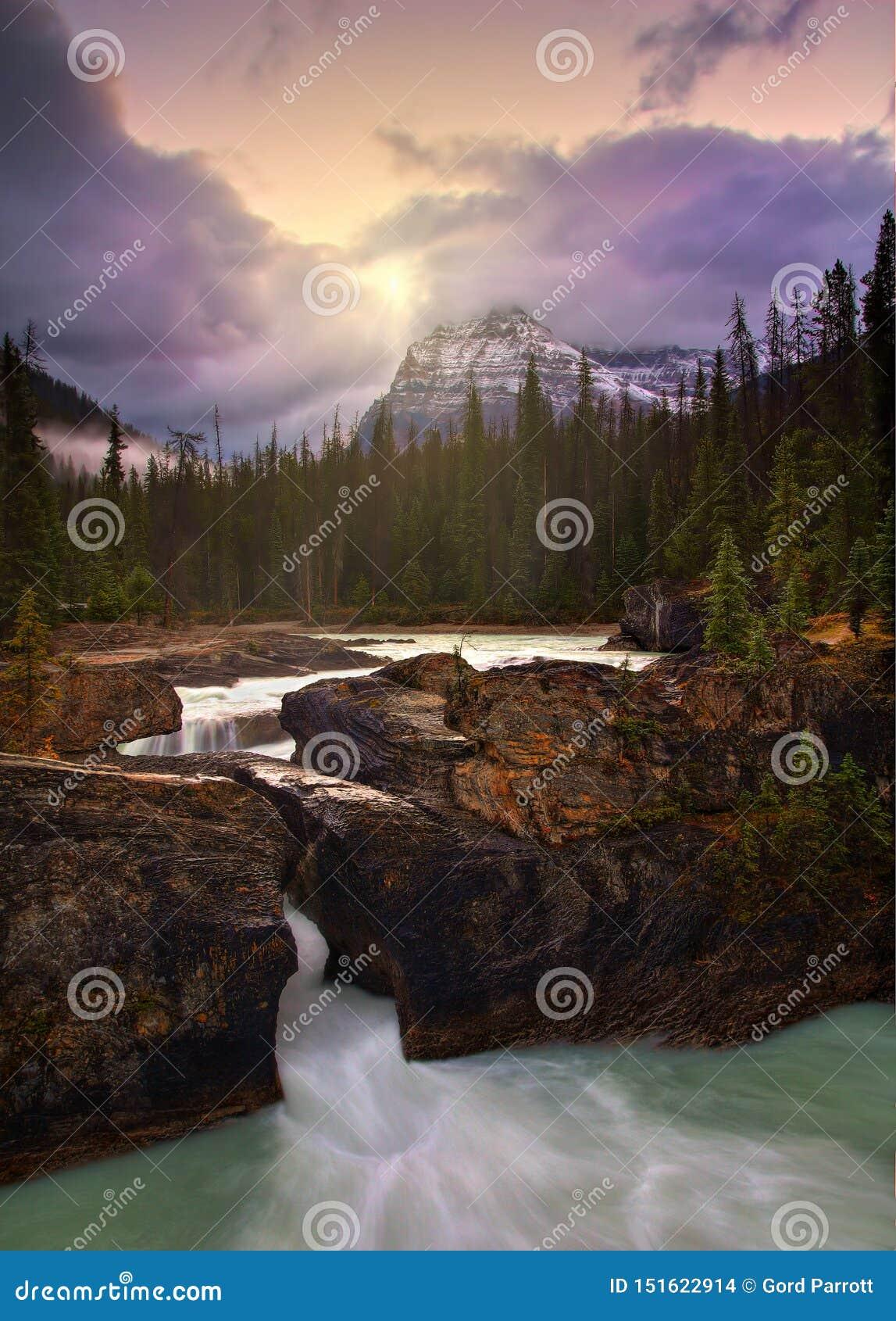 Sunrise At Natural Bridge