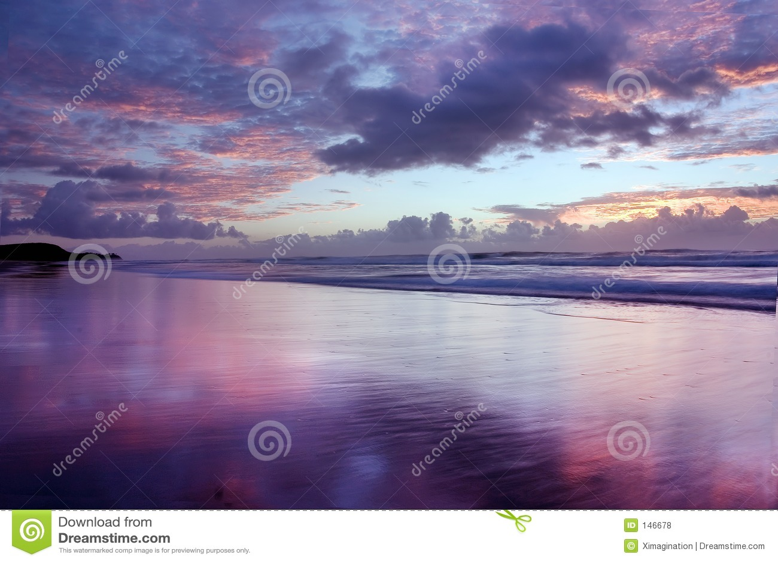 Sunrise @ Noosa Beach Royalty Free Stock Photos - Image ...