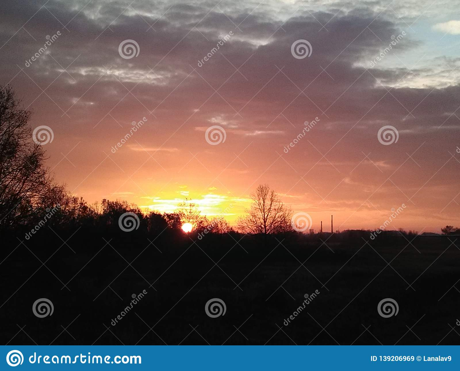 Sunrise is one of the greatest phenomena of nature