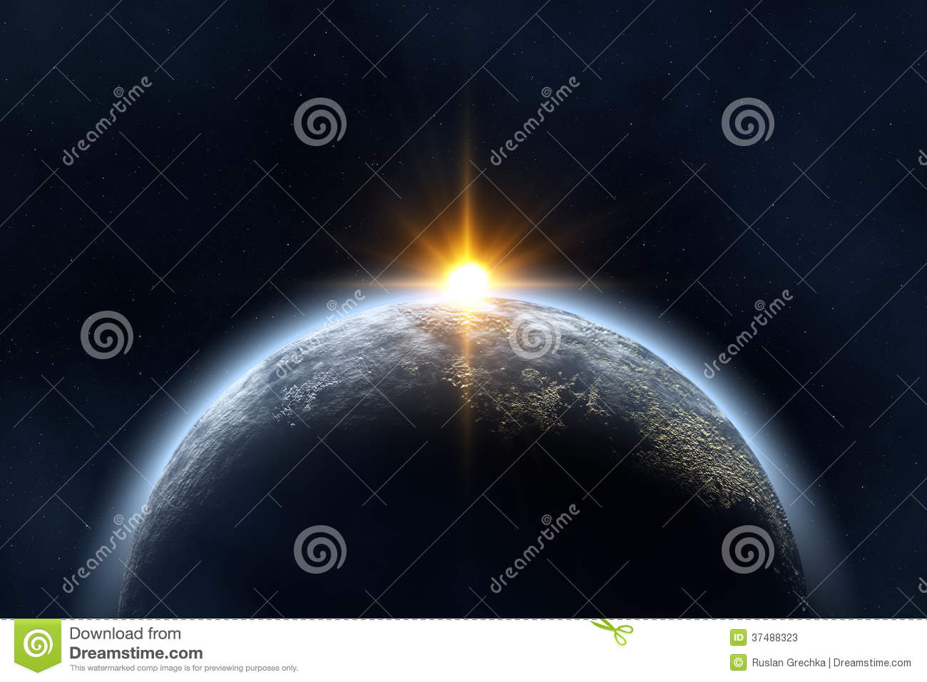 Sunrise stock photos image 37488323 for Space created