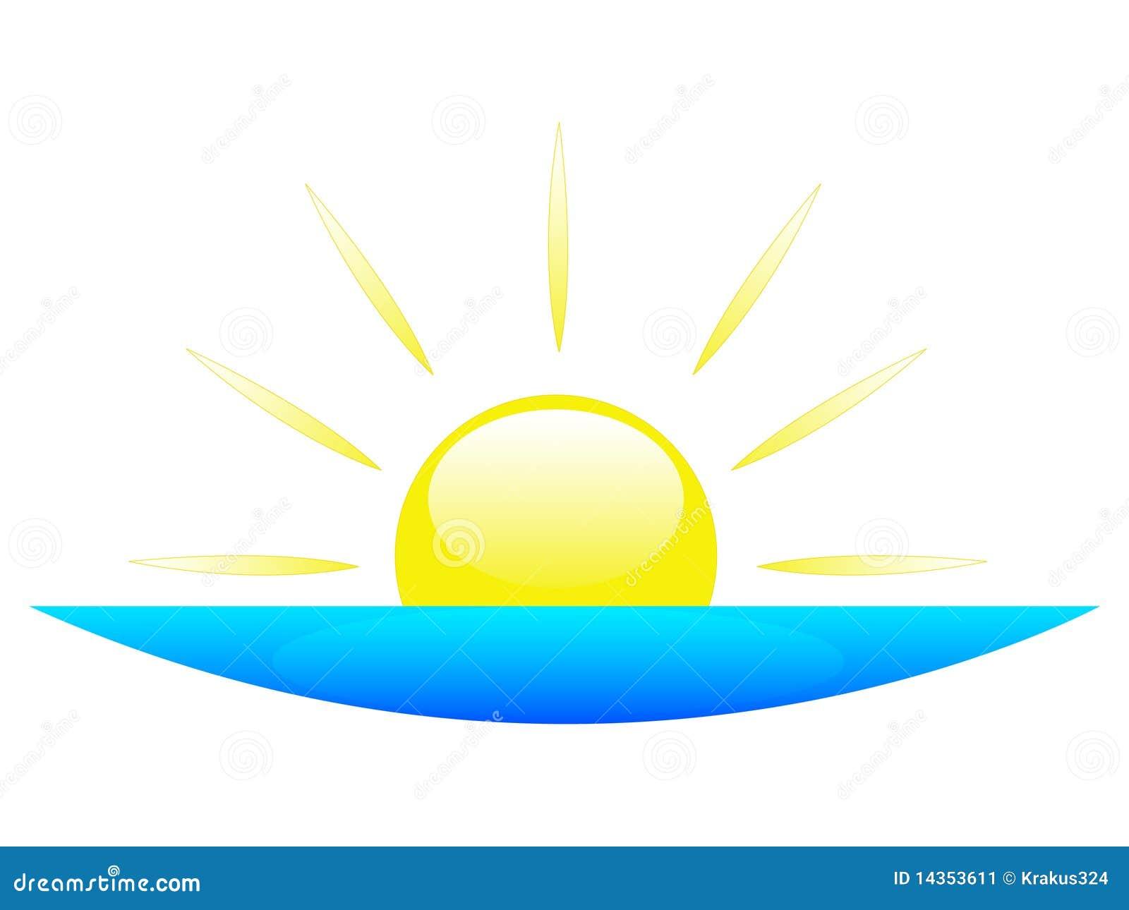 sunrise or sunset stock illustration illustration of sunrise 14353611 rh dreamstime com Sunrise Yoga Clip Art Sunrise Clip Art Wallpaper