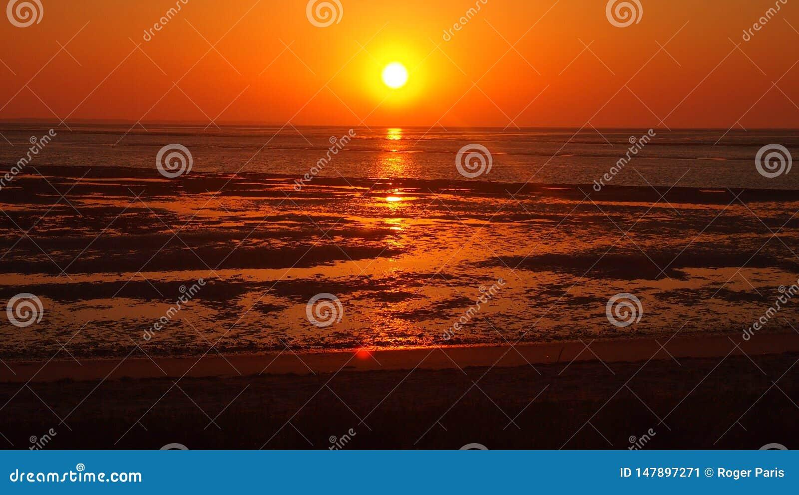 Sunset at Amrum