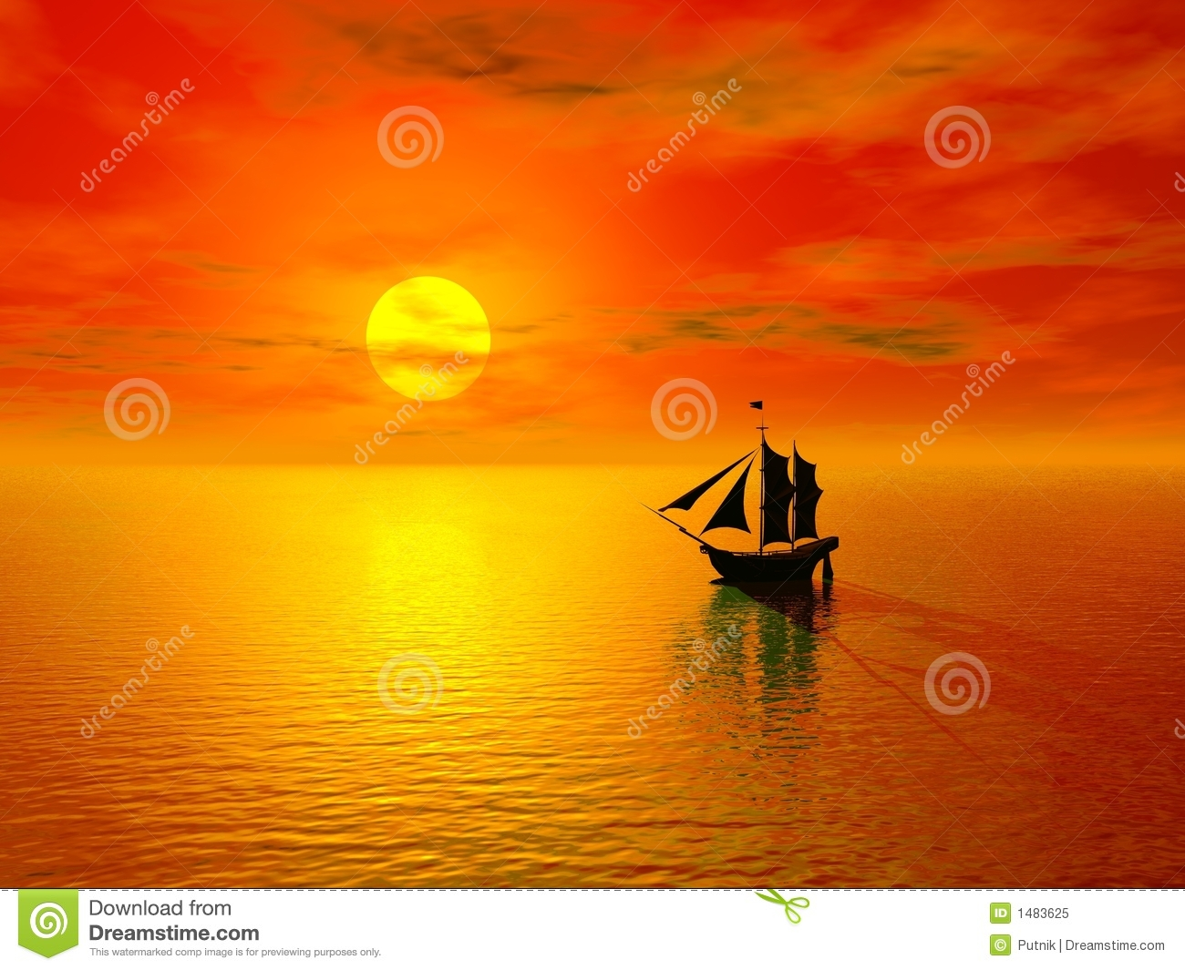 sunset boat red sunset and silhouette of old boats red sunset and ...