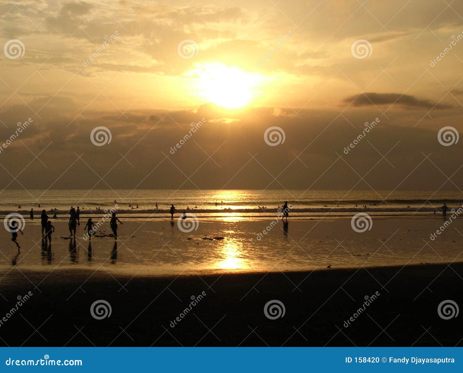 Sunset in God s Island