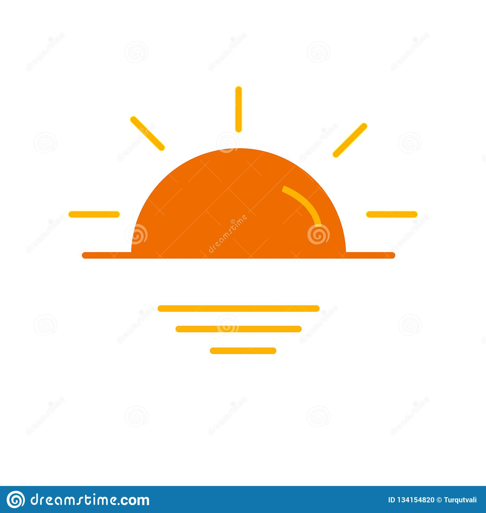 sunset icon vector sign and symbol isolated on white background sunset logo concept stock vector illustration of modern button 134154820 https www dreamstime com sunset icon vector sign symbol isolated white background logo concept your web mobile app design image134154820