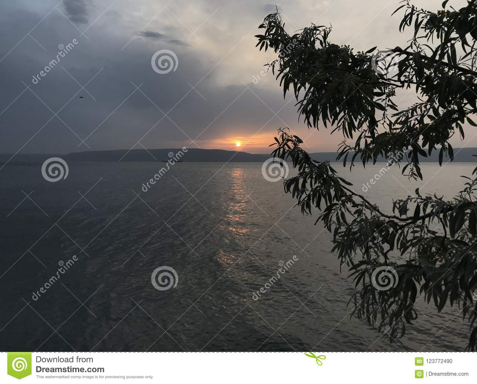 Sunset at Kepez