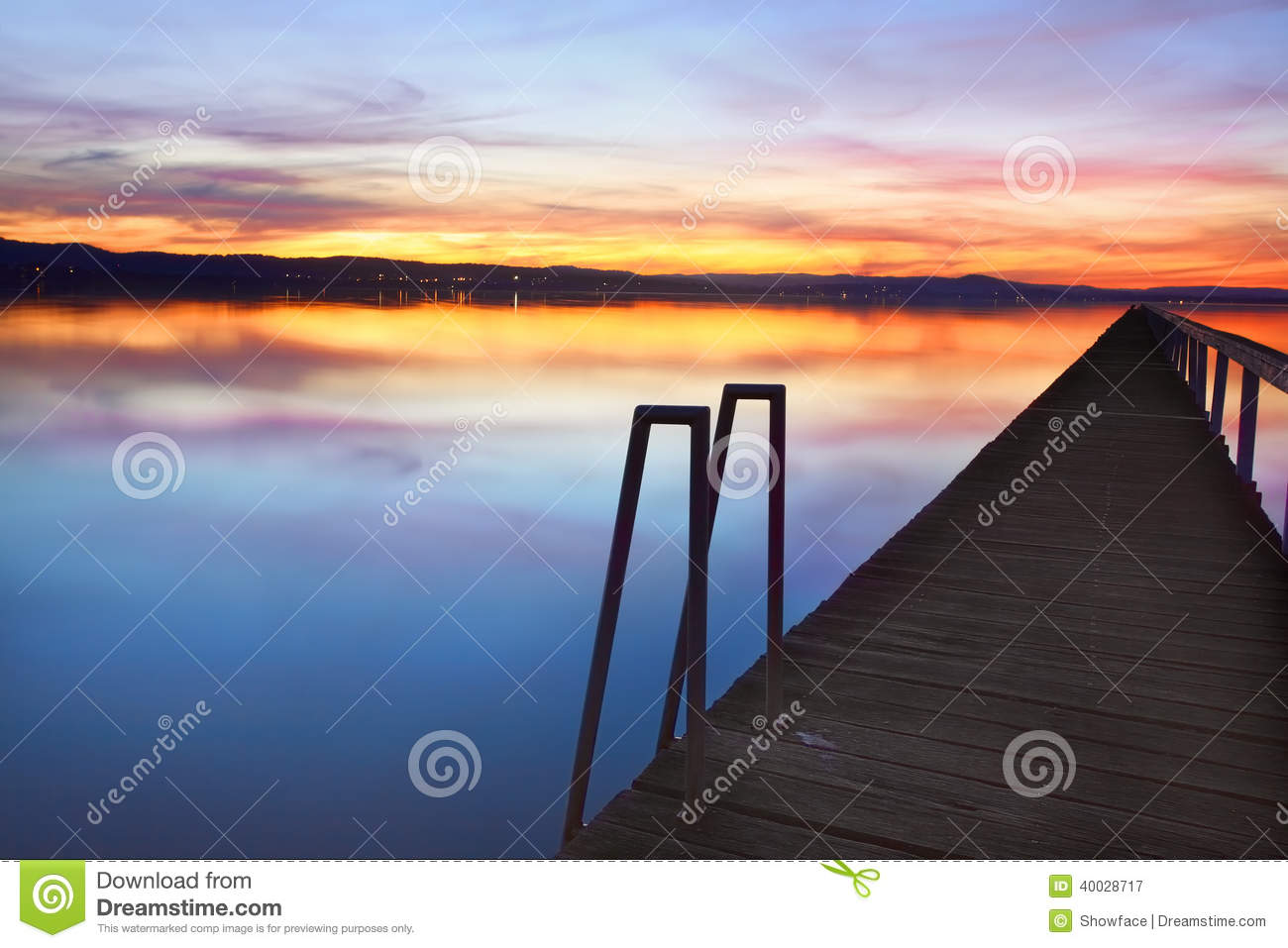 Long Jetty Australia  city images : ... sky and water reflections at Long Jetty, Tuggerah Lakes NSW Australia