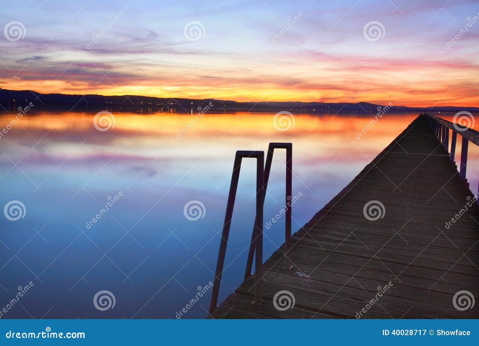 Long Jetty Australia  city photo : ... sky and water reflections at Long Jetty, Tuggerah Lakes NSW Australia